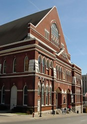 The Ryman Auditorium- home of the Grand Old Opry and some supernatural residents!