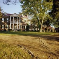 the isaac franklin plantation from afar