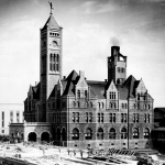 The haunted Union Station Hotel in Nashville